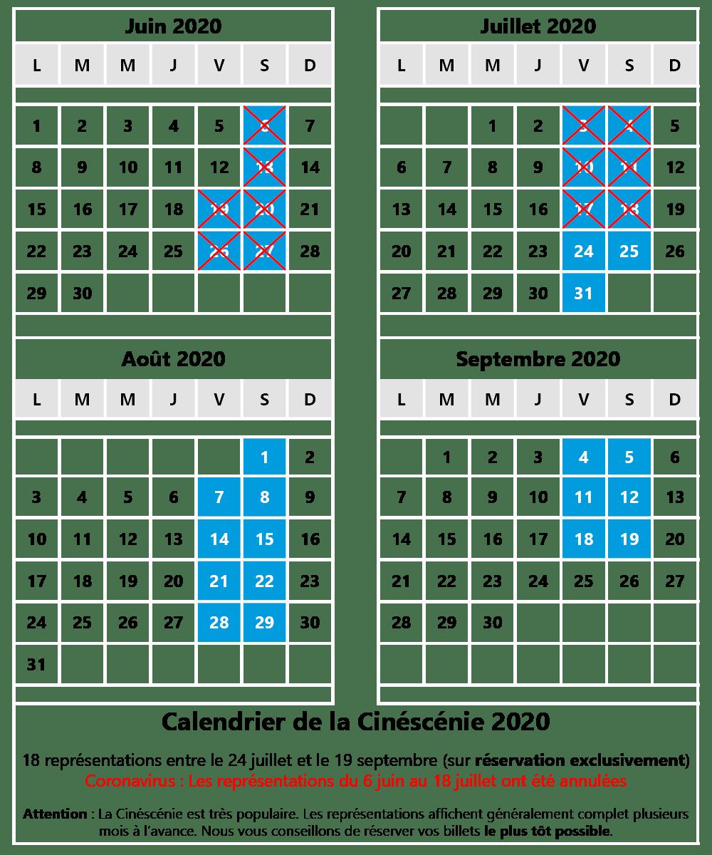 Calendrier Puy Du Fou 2020.Ooparc Puy Du Fou Bons Plans Et Billets Pas Cher